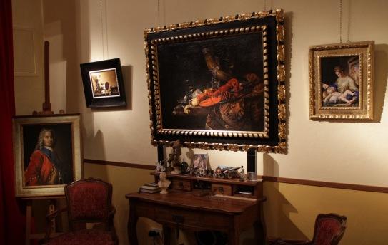 Lo Studio di Pasquale Naccarato in Borgo Santi Apostoli